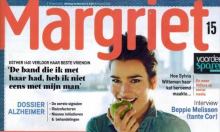 Eén baan voor het geld & één als hobby – Margriet