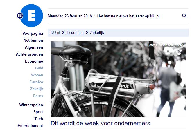 Dit wordt de week voor ondernemers – NU.nl