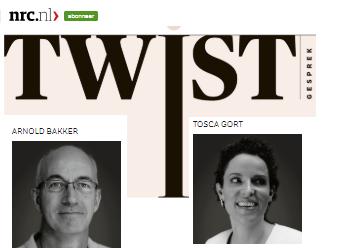 NRC -Twistgesprek met Arnold Bakker & Tosca Gort