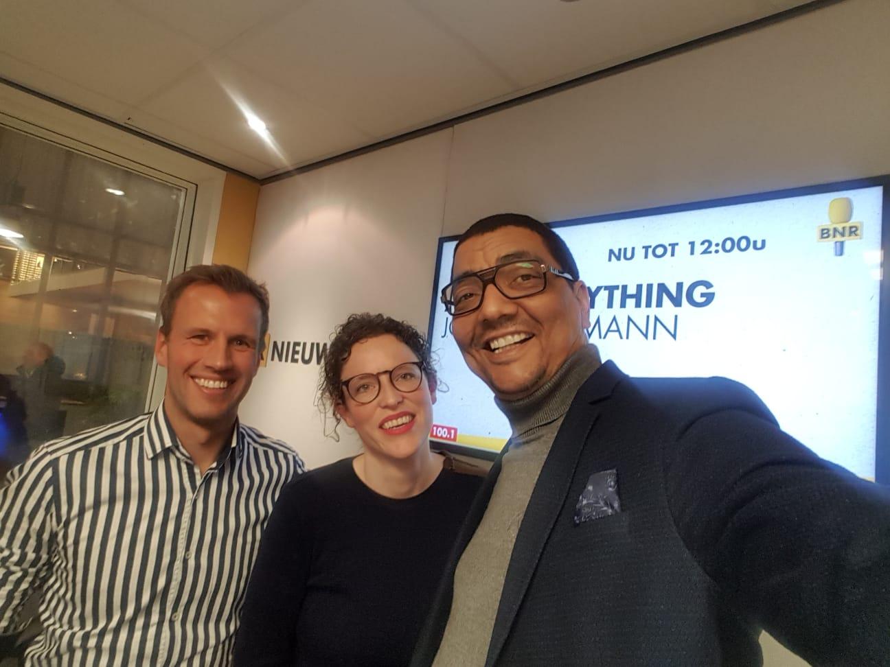 Tosca Gort, Martin Pet en Jörgen Raymann