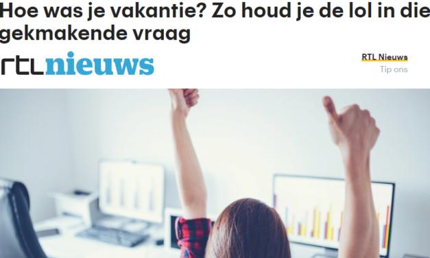 RTL nieuws – Hoe was je vakantie? Zo houd je de lol in die gekmakende vraag