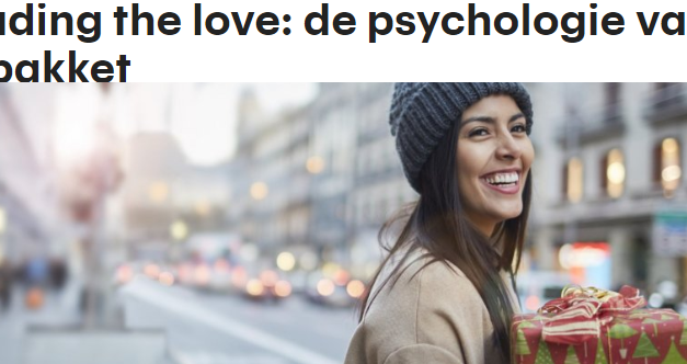 RTL – Spreading the love: de psychologie van het kerstpakket