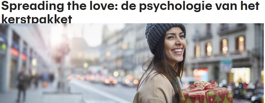 RTL – Spreading the love: de psychologie van het kerstpakket
