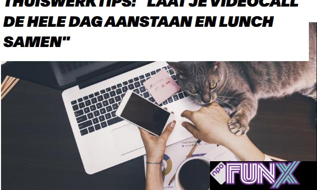 FUNx – 5 tips om thuis te werken