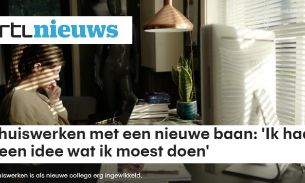 RTLnieuws – Thuiswerken met een nieuwe baan
